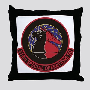 319th SOS Throw Pillow