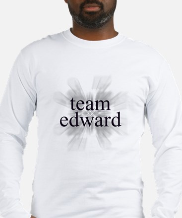 Team Edward Sparkle Long Sleeve T-Shirt
