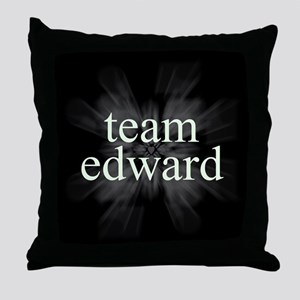 Team Edward Sparkle Throw Pillow