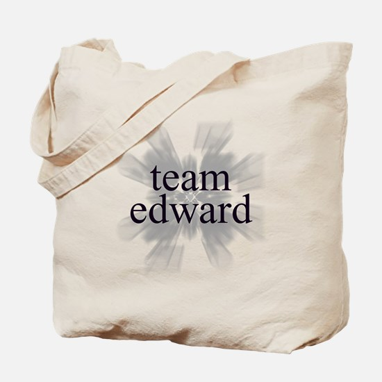 Team Edward Sparkle Tote Bag