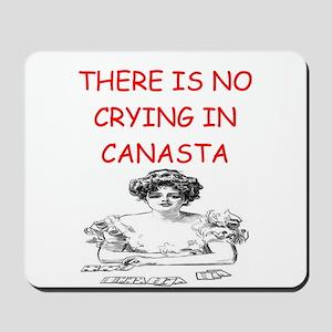 i love canasta Mousepad