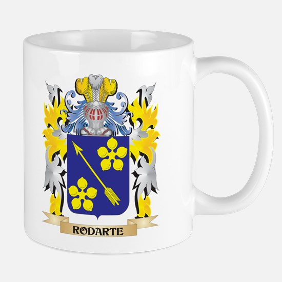 Rodarte Family Crest - Coat of Arms Mugs