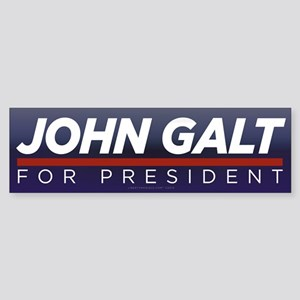 John Galt for President Sticker (Bumper 10 pk)