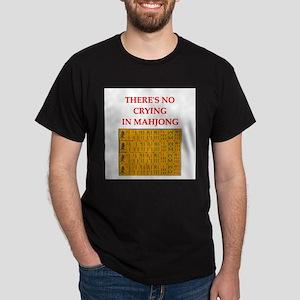 i love mahjong Dark T-Shirt