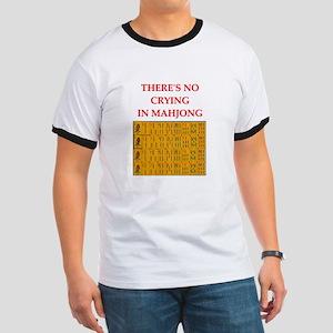 i love mahjong Ringer T