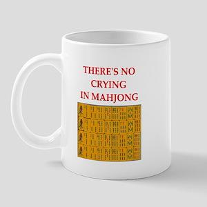 i love mahjong Mug