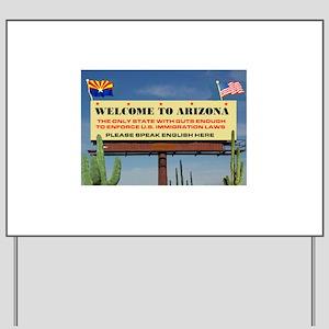 THANK YOU ARIZONA Yard Sign