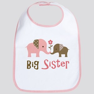 Big Sister - Mod Elephant Bib