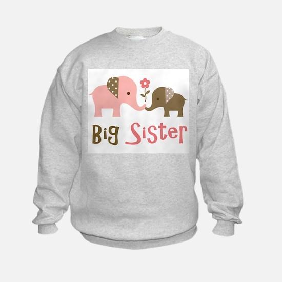 Big Sister - Mod Elephant Sweatshirt