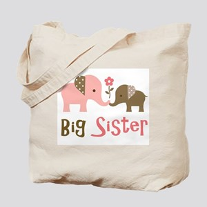 Big Sister - Mod Elephant Tote Bag