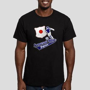 Japanese soccer Men's Fitted T-Shirt (dark)