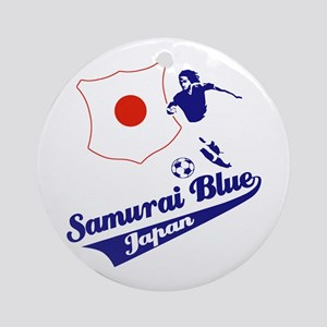 Japanese soccer Ornament (Round)