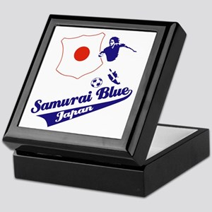 Japanese soccer Keepsake Box