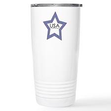 USA God We Trust Stainless Steel Travel Mug