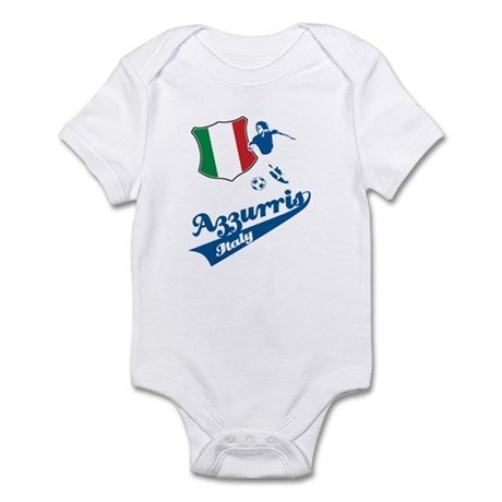 Italian soccer Infant Bodysuit