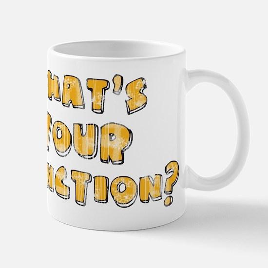 Whats Your Function Orange on Mug