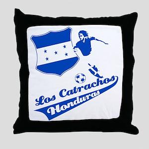 Honduran soccer Throw Pillow