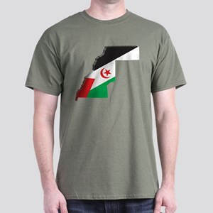3D Western Sahara Dark T-Shirt