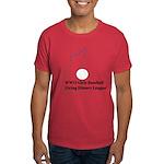 WWII Girls Baseball League Dark T-Shirt