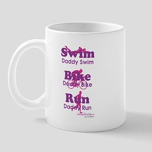Triathlon Daddy Mug