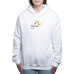 Women's Hooded Sweatshirt With Favarh Logo