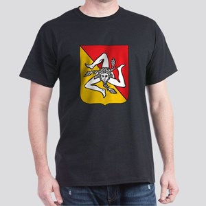 Sicilian stickers and magnets Dark T-Shirt