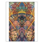 Africa.1 Land of Beauty Small Poster