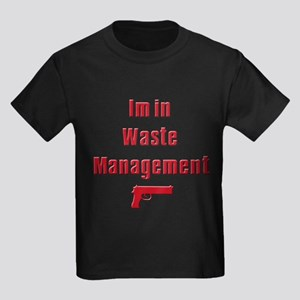 Waste Management Kids Dark T-Shirt