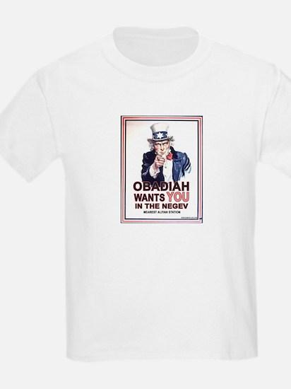 Obadiah Wants YOU Kids T-Shirt