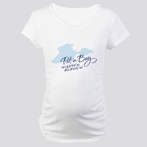 Put-in-Bay Maternity T-Shirt