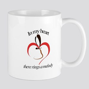 In my heart there rings a melody Mugs