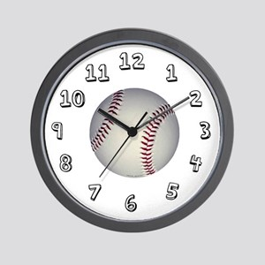 Baseball Wall Clock