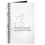 WWII Girls Baseball League Journal