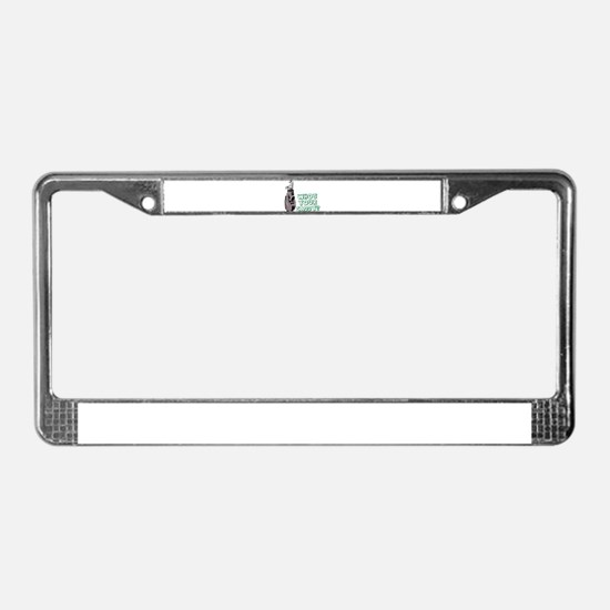 Who's Your Caddy? License Plate Frame