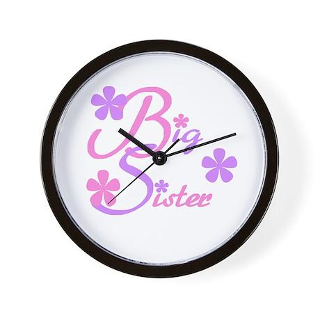 Big Sister Pastels Wall Clock