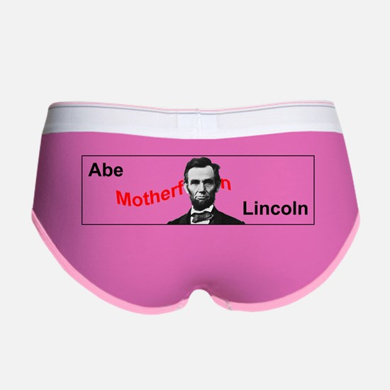 Abe Motherf***in Lincoln Women's Boy Brief