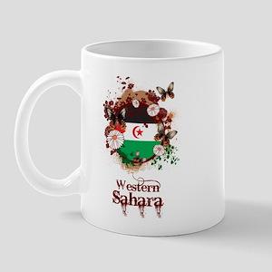 Butterfly Western Sahara Mug