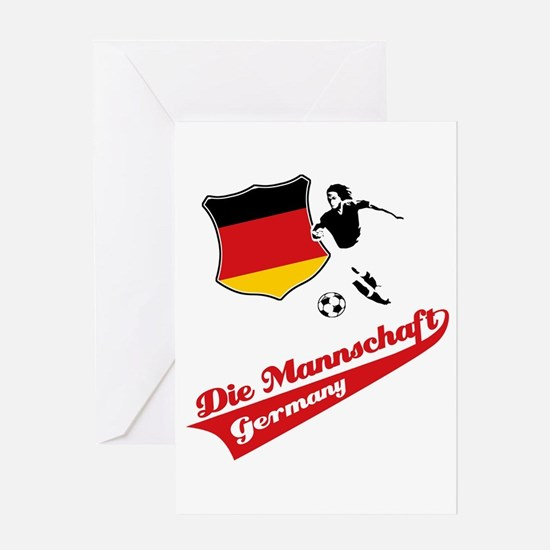 German soccer Greeting Card