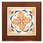 Organic Symmetry Framed Tile