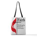 Faith Church 150 Polyester Tote Bag