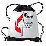 Faith Church 150 Drawstring Bag