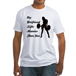 My Wife Lifts more than you Fitted T-Shirt