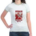 """""""Imperialism"""" Jr. Ringer T-Shirt"""