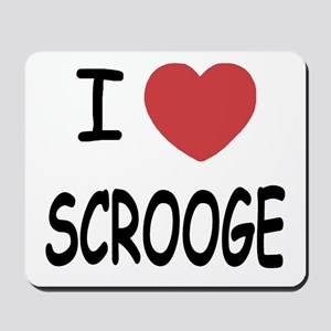 I heart Scrooge Mousepad