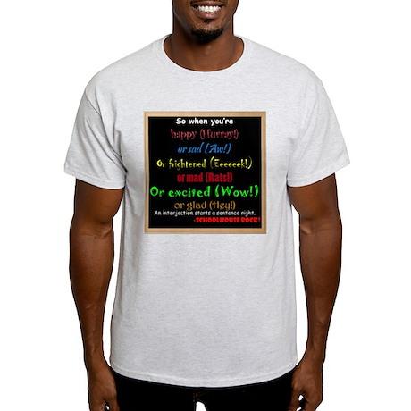 SchoolhouseRockTV Interjections Light T-Shirt