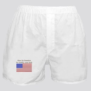 Wake Up America Boxer Shorts
