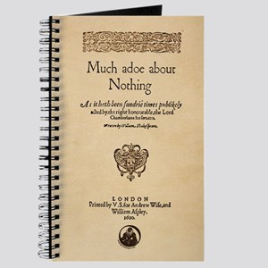 Much Ado About Nothing Journal