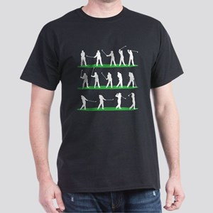 Golf Driving Sequence Dark T-Shirt