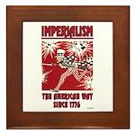 """""""Imperialism"""" Framed Tile"""