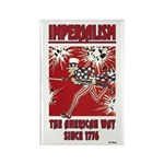 """""""Imperialism"""" Rectangle Magnet (10 pack)"""